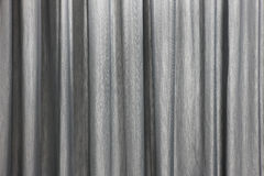 Gordijn achtergronddetail met golven in zwart-wit Stock Foto's