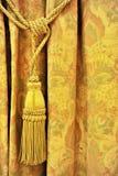 Gordijn decoratieve leeswijzer Stock Fotografie