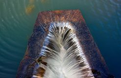 Gordijn van water Stock Foto's