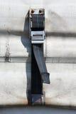 Gordijn zijaanhangwagen Stock Foto's
