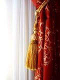 Gordijnen Royalty-vrije Stock Foto