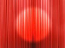 Gordijnen van een theaterstadium Vector Illustratie