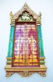 Gordijnstof Royalty-vrije Stock Foto's