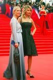 Gordon and Arkharova at Moscow Film Festival Royalty Free Stock Photos