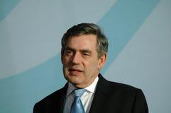 Gordon Brown Royaltyfria Bilder