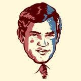 Gordon Brown portrait royalty free stock images