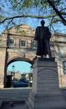 Gordon da estátua de Khartoum, Aberdeen, Escócia foto de stock