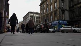 Gordon Glasgow uliczny miasto zdjęcie wideo