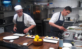gordon ramsay εστιατόριο s κουζινών Στοκ φωτογραφία με δικαίωμα ελεύθερης χρήσης
