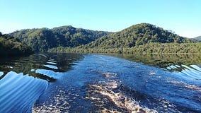 Gordon River landskap arkivfoton