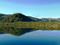 Gordon River Tasmania. The Gordon River is a major perennial river located in the central highlands, south-west, and western regions of Tasmania, Australia. The royalty free stock image