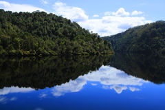 Gordon River Reflections Royalty Free Stock Image