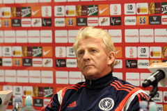 Gordon Strachan Royaltyfria Foton