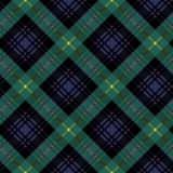 Gordon tartan fabric textile check pattern seamless Royalty Free Stock Photo