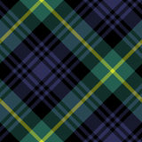 Gordon tartan fabric texture check pattern seamless. Vector illustration. EPS 10. No transparency. No gradients Stock Image