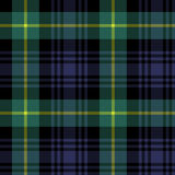 Gordon tartan fabric texture plaid pattern seamless Stock Images