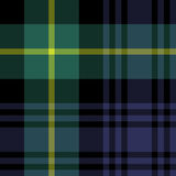 Gordon tartan fabric texture seamless pattern. Vector illustration. EPS 10. No transparency. No gradients Royalty Free Stock Image