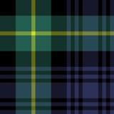 Gordon tartan fabric texture seamless pattern Royalty Free Stock Image
