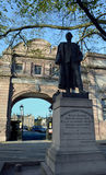 Gordon von Khartums-Statue, Aberdeen, Schottland stockfoto
