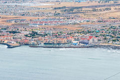 Gordons Bay as seen from the start of Clarence Drive Royalty Free Stock Image