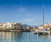 Gordons Bay Marina Royalty Free Stock Photos