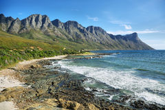 Gordons Bay near Cape Town Royalty Free Stock Photography
