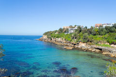 Gordons bay in Sydney. Bondi to Coogee walk is 6 km long located in Sydneys eastern suburbs Royalty Free Stock Photography