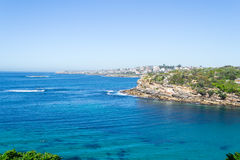 Gordons bay in Sydney. Bondi to Coogee walk is 6 km long located in Sydneys eastern suburbs Stock Photos