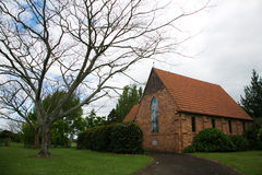 Gordonton Church in Hamilton, New Zealand. Royalty Free Stock Photos