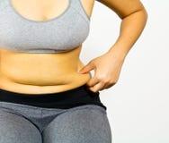 Gordura de corpo Fotografia de Stock