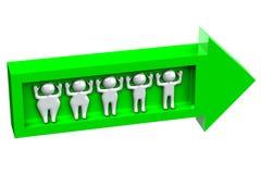 Gordura para diluir povos da perda de peso Fotos de Stock Royalty Free
