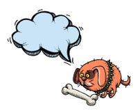 Gordura pequena dog-100 ilustração do vetor