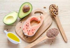 Gorduras não saturadas Fotografia de Stock Royalty Free