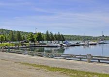 Gore Bay marina Stock Photography