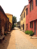 Gore island street - Senegal Royalty Free Stock Photos