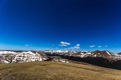 Gore Range Overlook en Rocky Mountain National Park Imagen de archivo libre de regalías