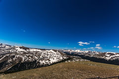 Gore Range Overlook en Rocky Mountain National Park Fotos de archivo libres de regalías