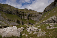 Goredale Scar. Malham, Yorkshire, UK royalty free stock photography
