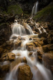 Goredale Scar waterfall stock photo