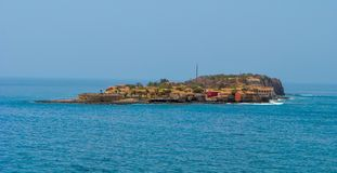 Goree Island, Senegal stock images