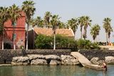 Goree Island. Slave Dakar Africa Royalty Free Stock Photography
