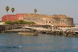 Goree Island royalty free stock images