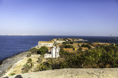 Goree Island royalty free stock photos