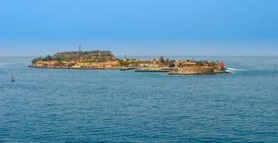 Goree wyspa, Senegal Obraz Royalty Free