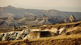 Goreme谷Cappadocia 免版税图库摄影