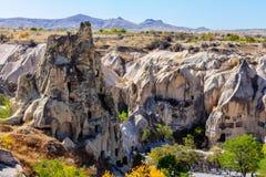 Goreme露天博物馆, Kapadokya,土耳其 免版税库存图片