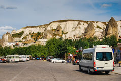 Goreme Bus Station, Cappadocia, Turkey royalty free stock images