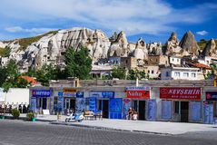 Goreme Bus Station, Cappadocia, Turkey Royalty Free Stock Images