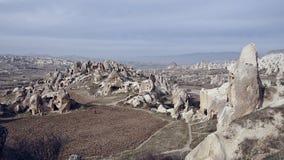 Goreme谷Cappadocia 库存照片