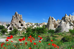 Goreme in Cappadocia Stockbild